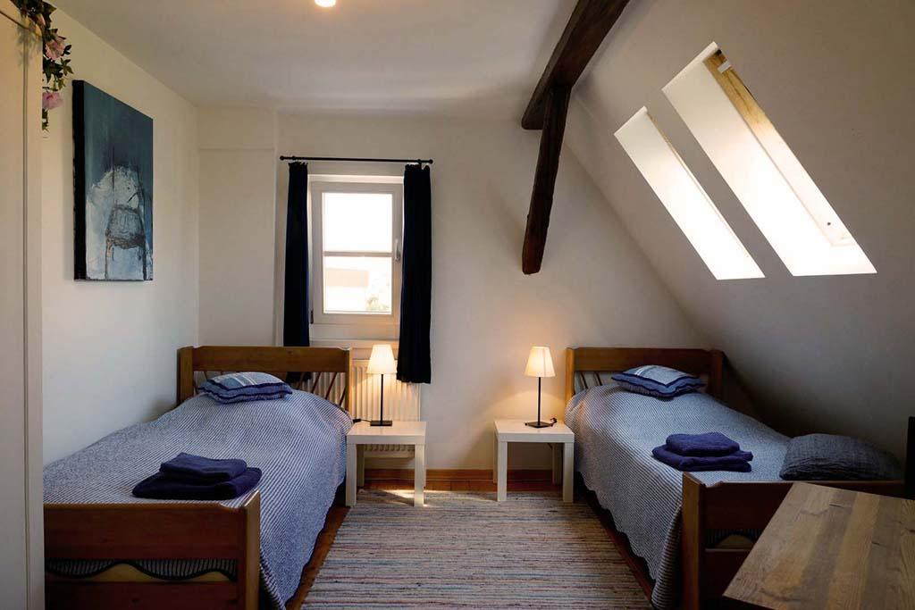 2-Bett-Zimmer, 2. Stock (Zimmer 3)