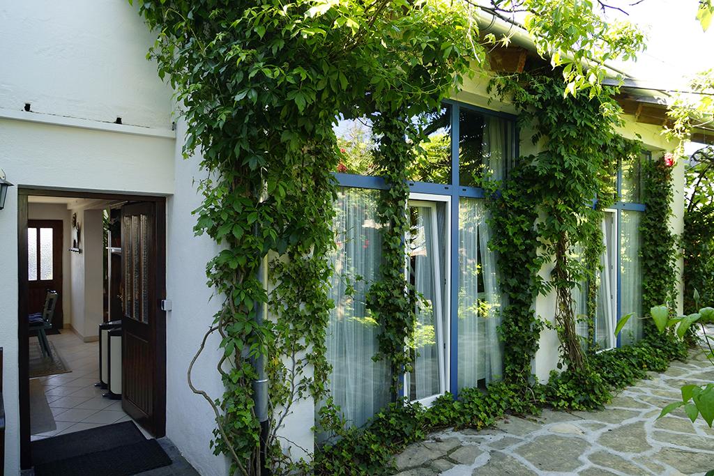 Wohnküche und Terrasse